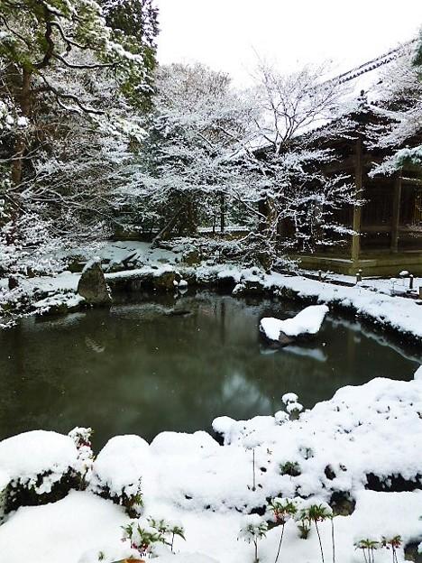 雪の蓮華寺