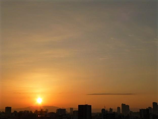 晴れの大阪