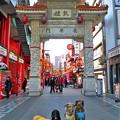 写真: 南京町の長安門