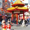 写真: 南京町広場