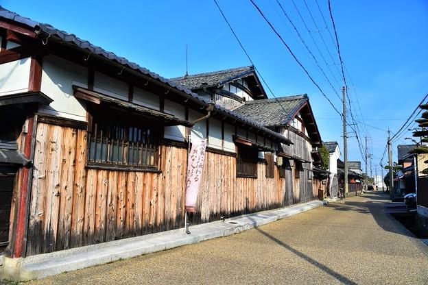 近江商人発祥の地  五個荘金堂の町並み