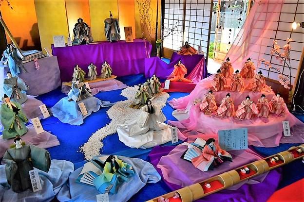 Photos: びわ湖をモチーフにした清湖雛