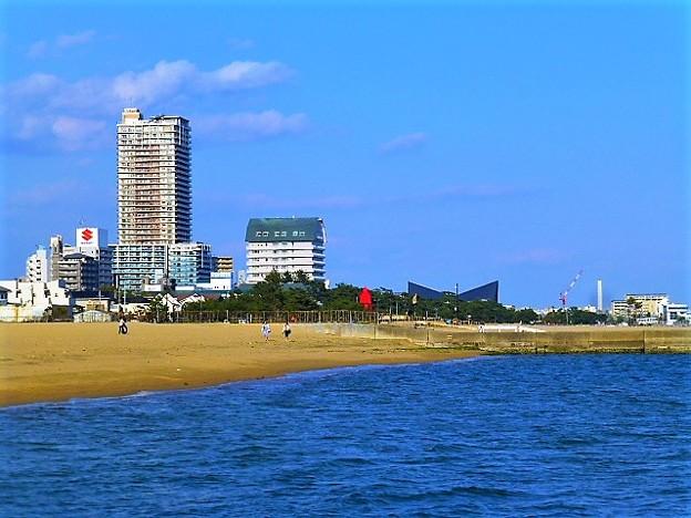 須磨海浜公園方面