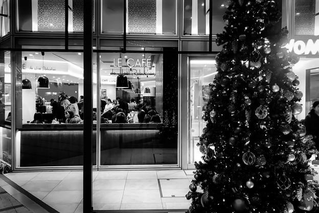 Shinjuku Station in December