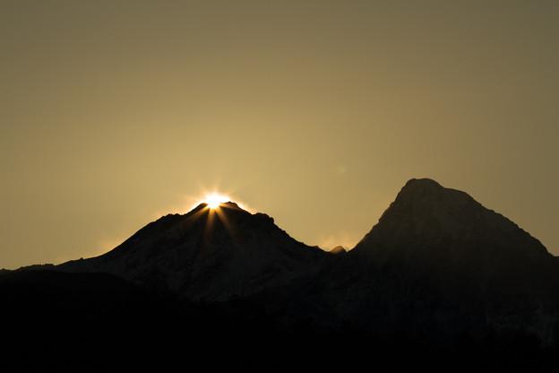 ダイアモンド赤岳