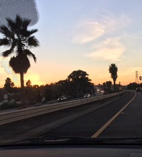 Sunset@SDFreeway-Dec2018