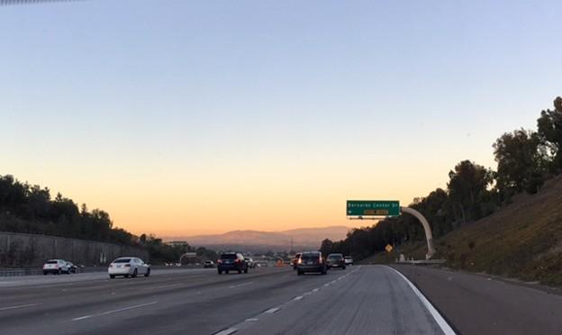 Sunset@SDFreeway