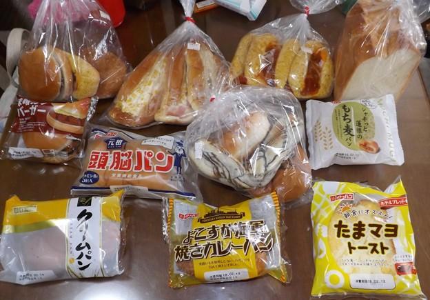 2018/02/12(月・祝)・工場直売のパン達