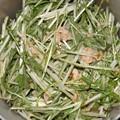 写真: 2018/02/12(月・祝)・水菜とツナの醤油マヨ和え