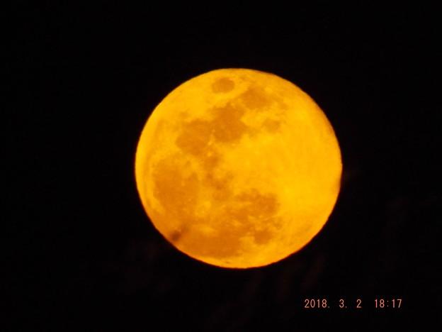 2018/03/02(金)のお月様(満月)
