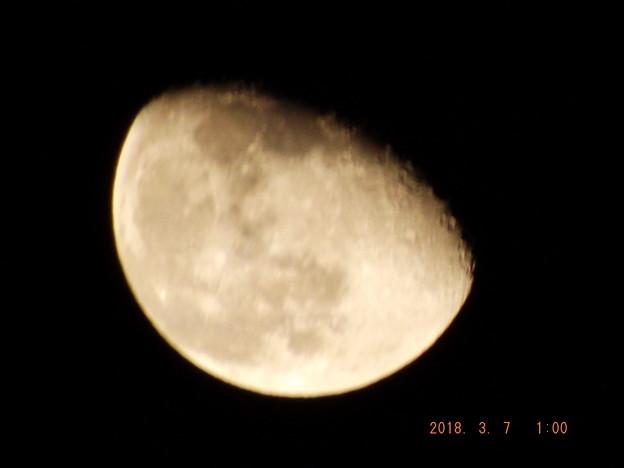 2018/03/07(水)のお月様