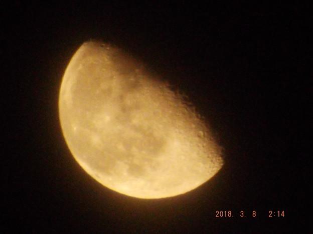 2018/03/08(木)のお月様