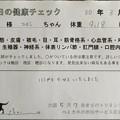 Photos: 2018/03/26(月)・本日の健康チェック