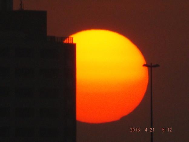 2018/04/21(土)の朝陽・1