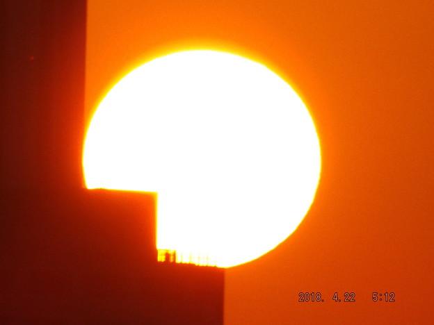 2018/04/22(日)の朝陽・6