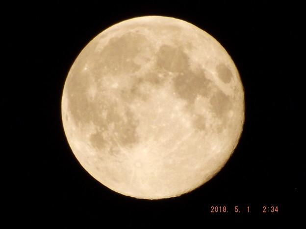 2018/05/01(火)のお月様