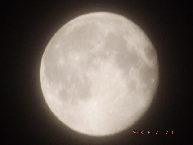 2018/05/02(水)のお月様