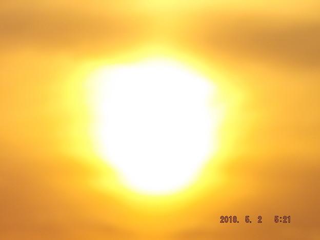 2018/05/02(水)の朝陽