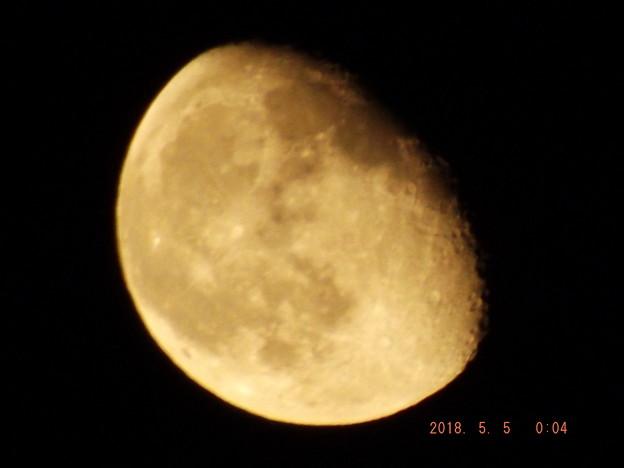 2018/05/05(土・祝)のお月様