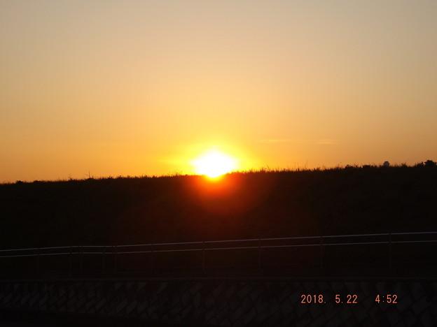 2018/05/22(火)の朝陽