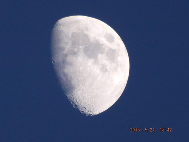 写真: 2018/05/24(木)のお月様