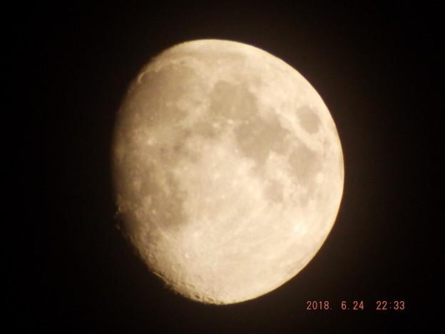 2018/06/24(日)のお月様