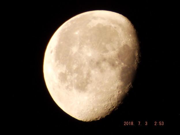 2018/07/03(火)のお月様