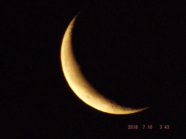 2018/07/10(火)のお月様