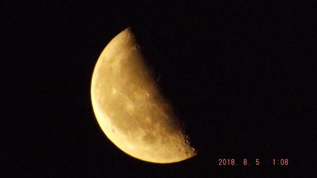 2018/08/05(日)のお月様