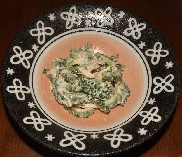 2018/09/06(木)・箸が止まらない!ゴーヤとツナのサラダ