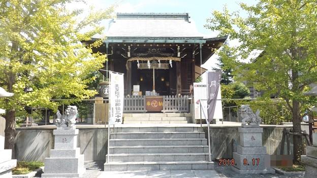 2018/09/17(月・祝)・亀戸浅間神社