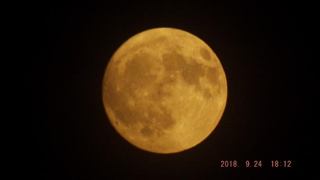 2018/09/24(月・祝)のお月様(十五夜)