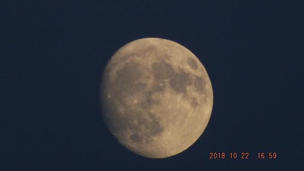 2018/10/22(月)のお月様
