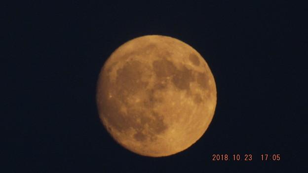 2018/10/23(火)のお月様