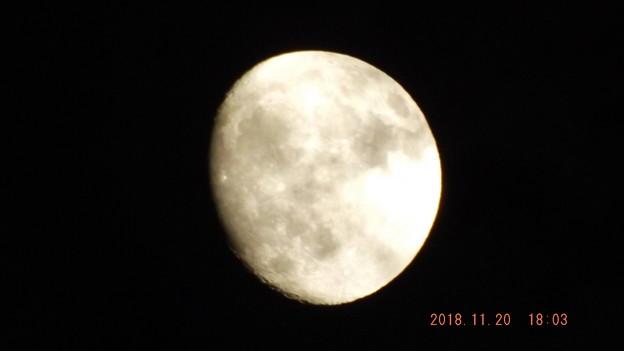 2018/11/20(火)のお月様