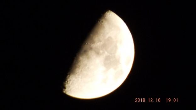 2018/12/16(日)のお月様