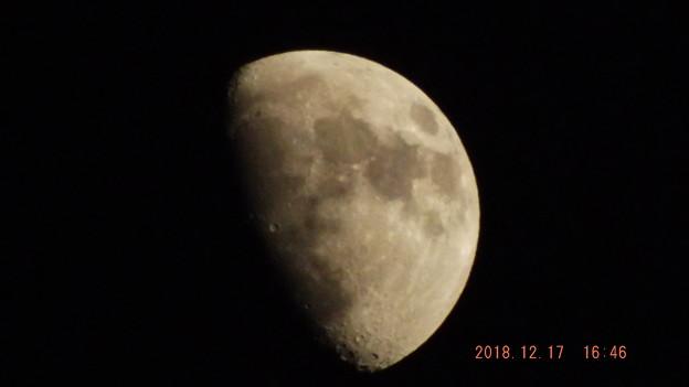 2018/12/17(月)のお月様