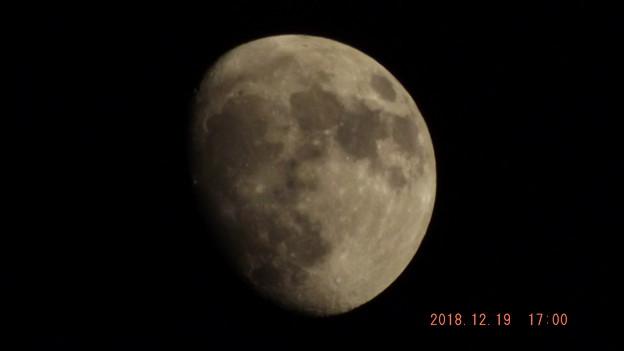 2018/12/19(水)のお月様