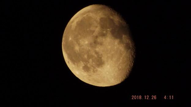 2018/12/26(水)のお月様