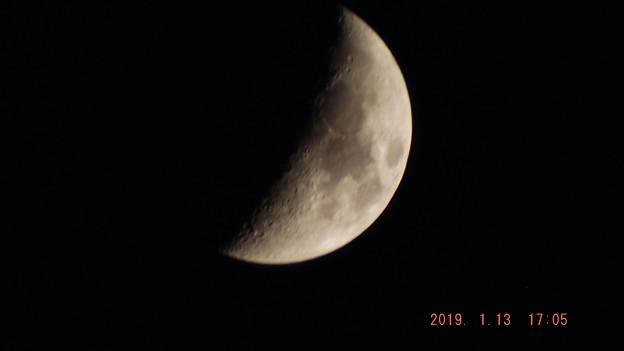 2019/01/13(日)のお月様