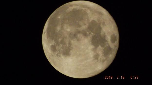 2019/07/18(木)のお月様