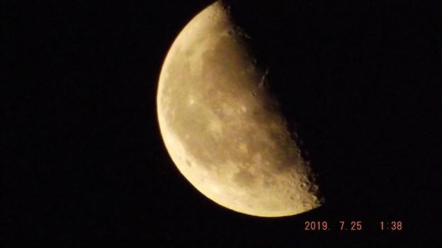 2019/07/25(木)のお月様
