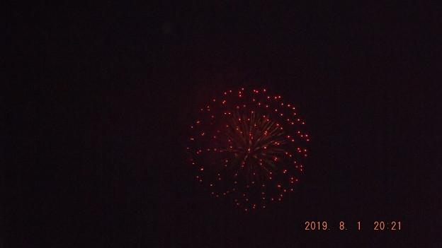2019/08/01(木)・江東花火大会の花火・5