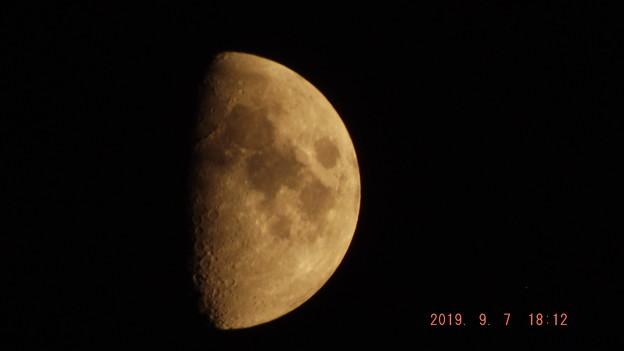 2019/09/07(土)のお月様