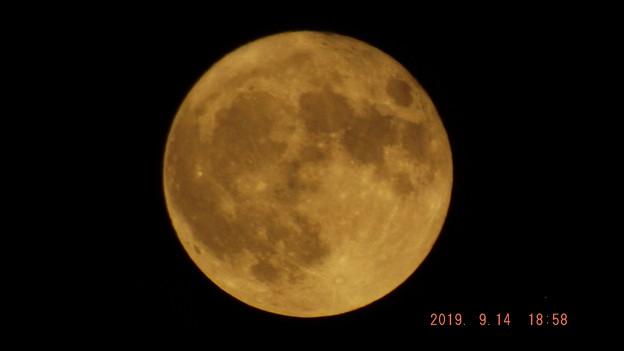 2019/09/14(土)のお月様
