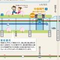 Photos: 富岩クルーズのイラストマップ