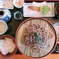 Photos: 蕎麦2枚とご飯付きランチ_食い過ぎ