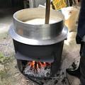 0516_味噌作りの豆を煮る