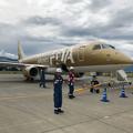 Photos: 0720_小さな機体は黄金色