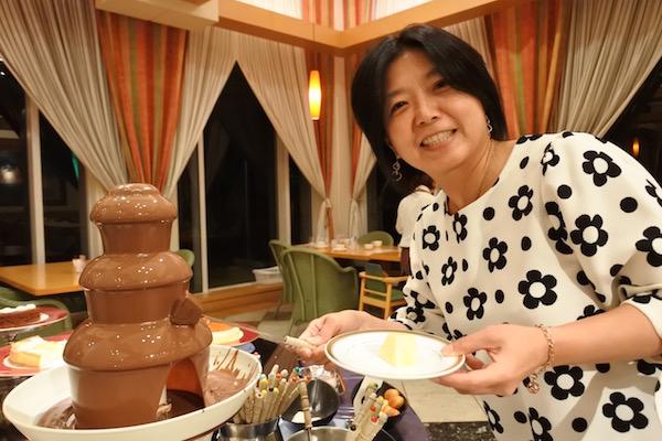 チョコレートフォンヂュ?チョコレートファウンテン?